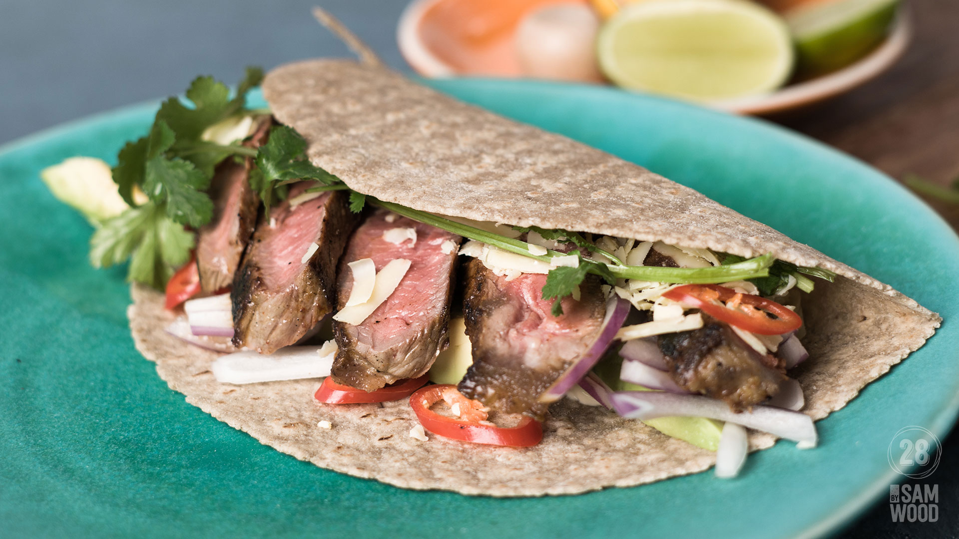 Minute steak wrap female featured